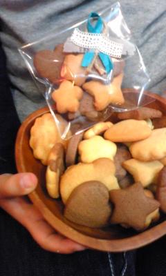 クッキーと休日