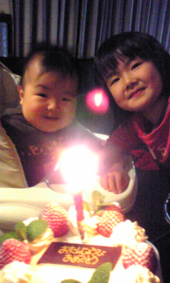 ☆HAPPY BIRTHDAY1歳☆